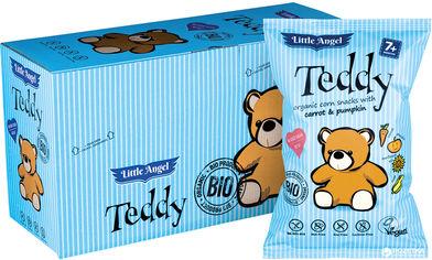 Упаковка снеков кукурузных McLloyd`s Мишка Teddy с морковью и тыквой 30 г х 8 шт (8588004638983) от Rozetka
