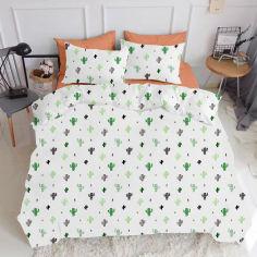 Акция на Комплект постельного белья Cosas Cactus El180-Terrakot 160х220х2 (Cactus_El180-Terrakot_160х2) (4822052042434) от Rozetka