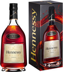 Акция на Коньяк Hennessy VSOP 6 лет выдержки 0.7 л 40% в подарочной упаковке (3245990969419) от Rozetka