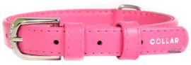 Акция на Ошейник для собак кожаный Collar WAUDOG Glamour с QR паспортом, без украшений, S, Ш 20 мм, Дл 30-39 см (32937) от Rozetka
