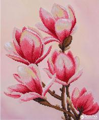 Акция на Набор для вышивания бисером ВДВ Цветок магнолии (ТН-0452) от Rozetka