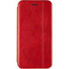 Акция на Кожаный чехол-книжка Gelius Book Cover Leather для Samsung Galaxy A10s Red от Allo UA