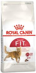Акция на Сухой корм для взрослых котов от 1 года бывающих на улице Royal Canin Fit 10 кг (3182550702249) (702249) от Rozetka