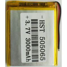 Акция на Аккумулятор литий-полимерный HST 505065 3000 mAh универсальный от Allo UA