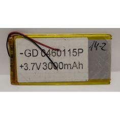 Акция на Аккумулятор литий-полимерный GD 0460115P 3000 mAh универсальный для техники от Allo UA