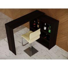 Акция на Барная стойка 3 в 1 Rimos кухонный стол трансформер 1380x390 Венге (Z-13_V) от Allo UA