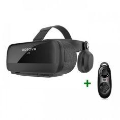 Акция на Очки виртуальной реальности BOBO VR Z5 Геймерский шлем с проводными наушниками + пульт Bluetooth (2018) Black от Allo UA