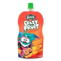 Акция на Смузи-пюре Тропический челендж Crazy Fruit Jaffa д/п 100г от Auchan