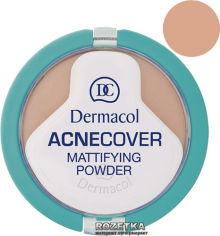 Акция на Матирующая компактная пудра Dermacol Acnecover для проблемной кожи 11 г 02-Shell (8595003933742) от Rozetka