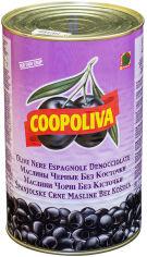 Акция на Маслины Coopoliva без косточек Черные 4.3 л (8410522002734) от Rozetka