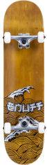 Акция на Скейтборд Enuff Big Wave Brown-silver (ENU2990-BS) от Rozetka