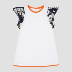 Акция на Платье Smil Розовый Цитрус 120324 128 см Белое (4824039217583) от Rozetka
