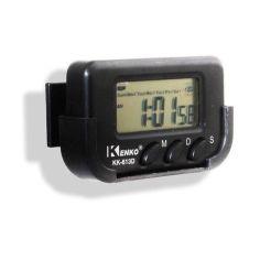 Акция на Часы Kenko KK 613 D на липучке черные от Allo UA