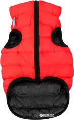 Акция на Двусторонняя курточка для собак Airy Vest для больших собак L 55 Красно-черная (1577) от Rozetka