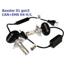 Акция на LED лампы Baxster S1 gen3 H4 H/L 6000K CAN+EMS (2 шт) от Allo UA
