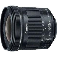 Акция на Объектив Canon EF-S 10-18 mm f/4.5-5.6 IS STM (9519B005) от Allo UA