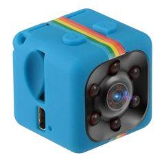 Акция на Мини камера SQ11 с ночной съемкой и датчиком движения, размер 23*23*23 мм / цвет синий от Allo UA