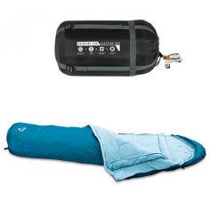 Акция на Туристический спальный мешок Bestway 68066 на затяжках от Allo UA
