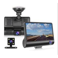 """Акция на Видеорегистратор c 3-мя ĸaмepaми, чувствительной матрицей, функцией HDR (4"""" Full HD 1080P) XPRO DRIVE XH202 от Allo UA"""