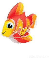 Акция на Надувная игрушка Intex 58590 Рыбка от Stylus