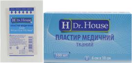 Акция на Пластырь медицинский тканевый H Dr. House 6 см х 10 см (5060384392165) от Rozetka