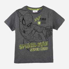 Акция на Футболка Disney Spiderman UE1056 104 см Серая (3609084858032) от Rozetka