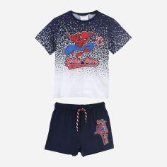 Акция на Комплект (футболка + шорты) Disney Spiderman UE1118 116 см Нави (3609084714833) от Rozetka