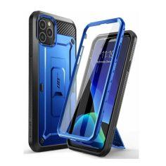 """Акция на Противоударный чехол с подставкой и защитой экрана Supcase Unicorn Beetle Pro для Iphone 12 Pro Max (6.7"""") Blue от Allo UA"""
