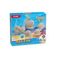 Акция на Paulinda Sandy clay Морская жизнь 300 грамм, 5 единиц (PL-140016) от Repka