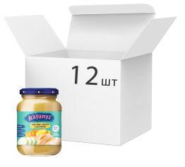 Акция на Упаковка пюре Карапуз Овощное ассорти с курицей 125 г х 12 шт (4820134722663) от Rozetka