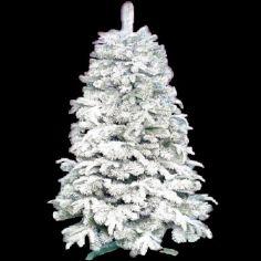 Акция на Новогодняя искусственная елка EL «Премиум заснеженная» h 1.6 м Ø 88 см из пластика от Allo UA