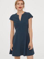 Акция на Платье H&M 0706365-0 34 Зеленое (СА2000001692400) от Rozetka