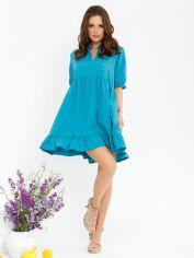 Акция на Платье ISSA PLUS 12773 M Бирюзовое (issa2003269704472) от Rozetka
