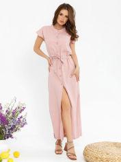 Акция на Платье ISSA PLUS 12780 3XL Розовое (issa2003935582083) от Rozetka