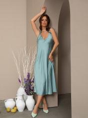 Акция на Платье ISSA PLUS 13013 XL Мятное (issa2003269706360) от Rozetka