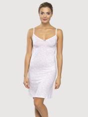 Акция на Ночная рубашка Promin 2072-01-073 S Бледно-розовая (4820150469054) от Rozetka