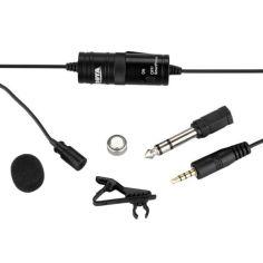 Акция на Петличный электретный конденсаторный микрофон Boya BY-M1 с переходником 1000 Ом от Allo UA