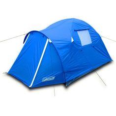 Акция на Палатка 2-местная Coleman 3006 с тамбуром, 270*145*130, синяя, туристическая двухместная палатка от Allo UA