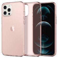 Акция на Spigen для iPhone 12/12 Pro Crystal Flex Rose Crystal (ACS01518) от Repka