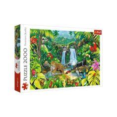 Акция на Пазлы Trefl Trefl «Тропический лес» 2000 элементов (27104) от Allo UA
