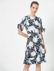 Акция на Платье Koton 0YAK88011PW-71C 36 Blue Design (8682262678269) от Rozetka