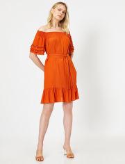 Акция на Платье Koton 0YAK88835PW-O97 44 Kiremit (8682262679808) от Rozetka