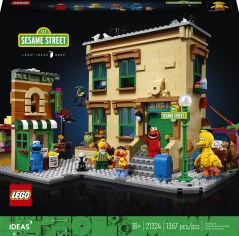 Акция на Конструктор LEGO Ideas Улица Сезам 123 1367 деталей (21324) (5702016819953) от Rozetka