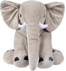 Акция на Мягкая игрушка Fancy Слон Элвис 48 см Серый (SLON2S) (4812501173420) от Rozetka