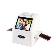 Акция на Слайд сканер фотопленки слайдов негативов QPIX DIGITAL FS610 белый от Allo UA