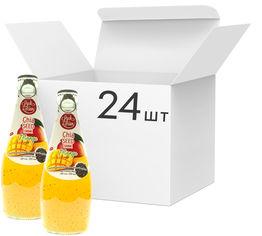 Акция на Упаковка напитка Luck Siam с семенами чиа Манго 0.29 л х 24 бутылки (8859022404110_1) от Rozetka