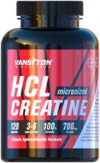 Акция на Креатин Vansiton гидрохлорид (HCL) 120 капсул (4820106592171) от Rozetka