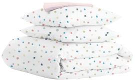 Акция на Комплект постельного белья Cosas Color Blots El Rose 200х220 (4822052063965) от Rozetka