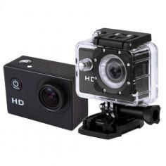 Акция на Видеокамера Экшн камера Action Camera D600 с боксом и креплениями (35478) от Allo UA