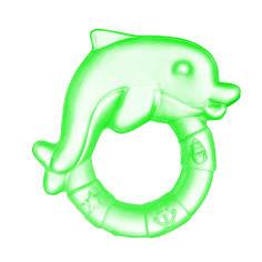 Акция на Прорезыватель для зубов Canpol Babies Дельфин зеленый от Auchan